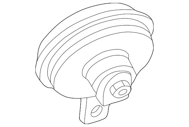1990 2002 Mercedes Benz Alarm Horn 003 542 68 20