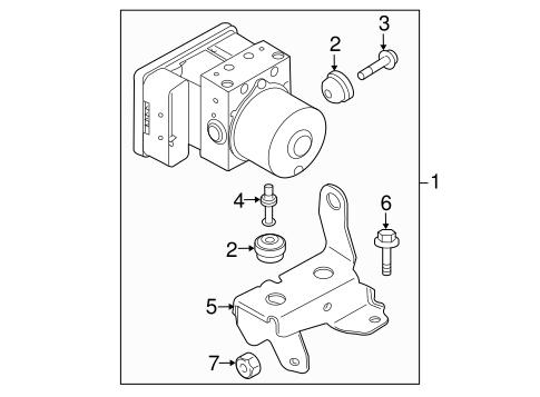 Subaru Abs Diagram