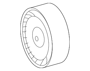 Pulley - Mercedes-Benz (278-202-06-19)