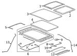 Sunshade - GM (84286796)