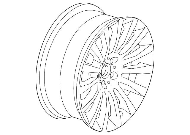 bmw wheel  alloy  36