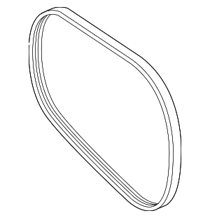 Serpentine Belt - Mercedes-Benz (003-993-47-96)