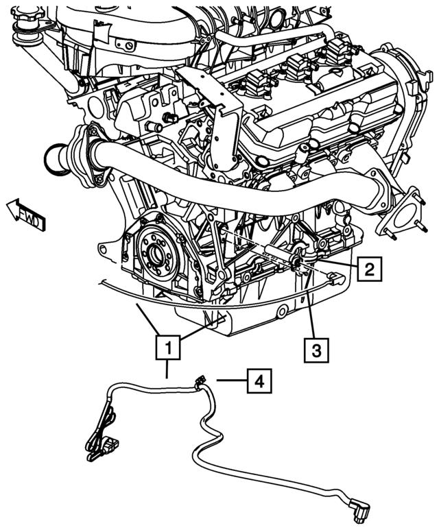 2009 2010 Mopar Engine Block Heater Cord 4868424ad