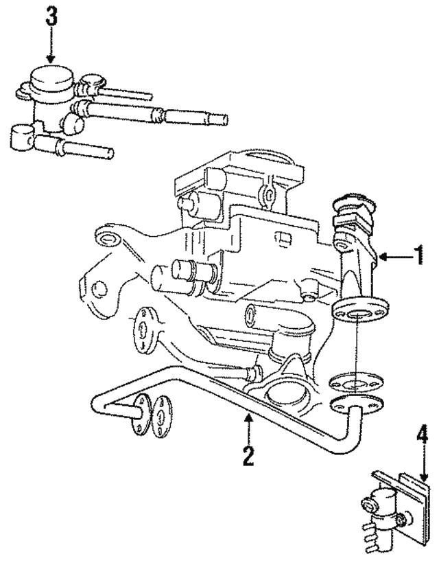 1990 2000 Mopar Vacuum Solenoid 5234217