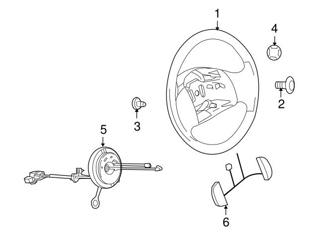 Genuine Ford Clock Spring 8C2Z-14A664-B
