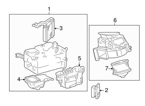 Toyota 87107-17100 HVAC Heater Core