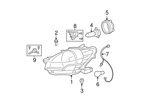Toyota 81193-52120 Headlamp Protector