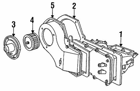 heater components for 1996 oldsmobile cutlass ciera #0