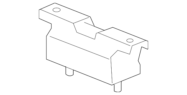 GM OEM-Automatic Transmission Mount 23134733