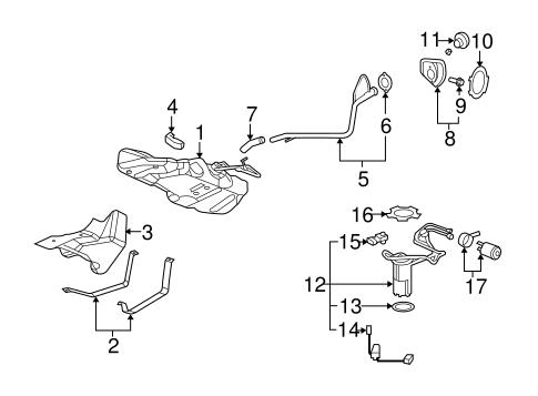 fuel system components for 2009 chevrolet cobalt lt. Black Bedroom Furniture Sets. Home Design Ideas