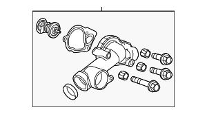 Thermostat Housing - GM (12638186)