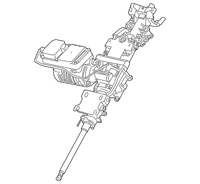 2003 2008 Bmw Z4 Steering Column 32 30 6 780 728