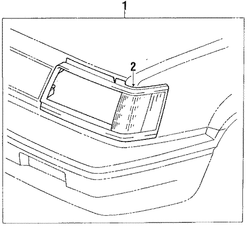 Side Marker Lamps for 1986 Toyota Tercel #0