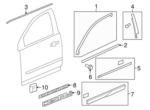 Gmc Door Parts Diagram - Wiring Schematics