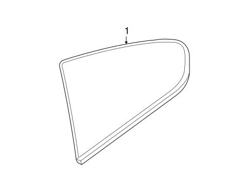 Glass Hardware For 2015 Infiniti Q60