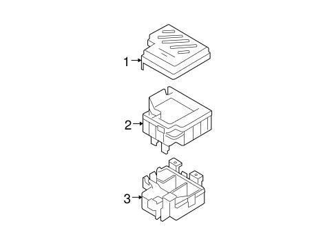 santa fe electrical fuse box parts santa fe 2008 hyundai. Black Bedroom Furniture Sets. Home Design Ideas