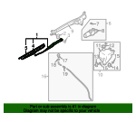 Wiper Arm - Subaru (86532SA030)