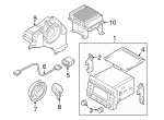 CD Player - Kia (96174-3W000)