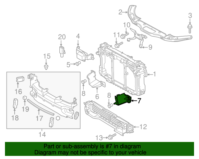 Lower Plate - Mazda (BHN1-50-1V1A) | Quirk Parts