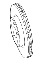 Disc Brake Rotor - Mopar (4779209AG)