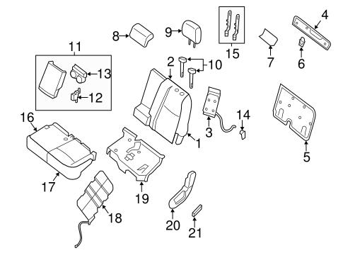 Infiniti Jx35 Seating