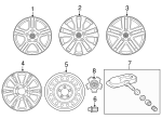 Wheel Nut - Toyota (90942-A1001)