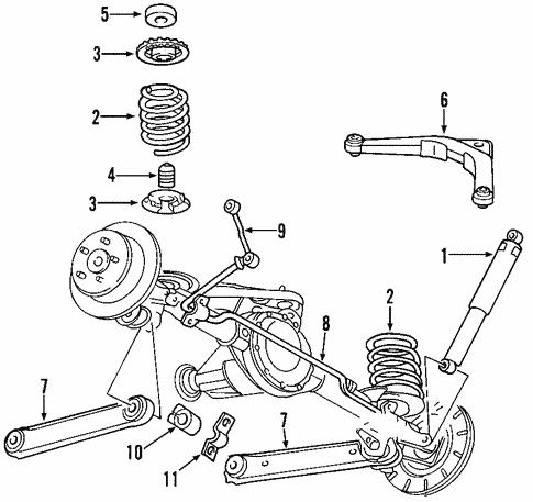 rear suspension for 2000 jeep grand cherokee #0