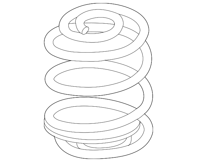 genuine gm coil spring 22712222