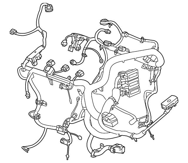 engine harness gm 23128520 gmpartsdirect Painless Wiring Harness engine harness