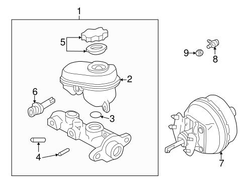 Hydraulic System For 2007 Pontiac Grand Prix