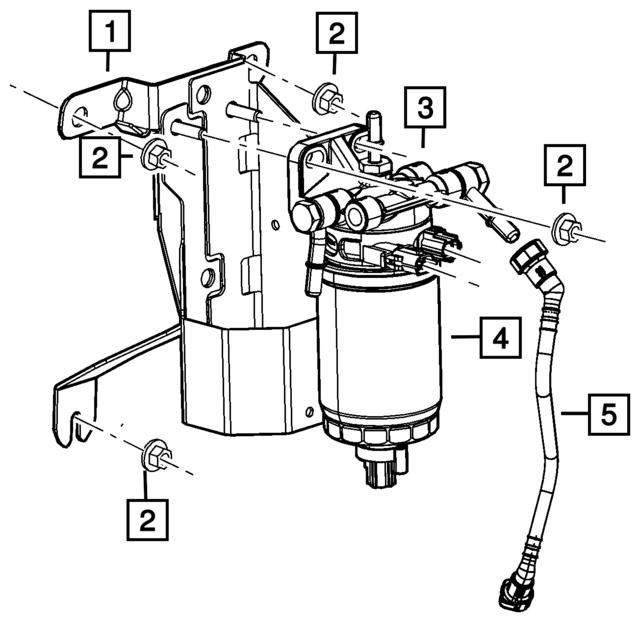 Subaru Fuel Filter