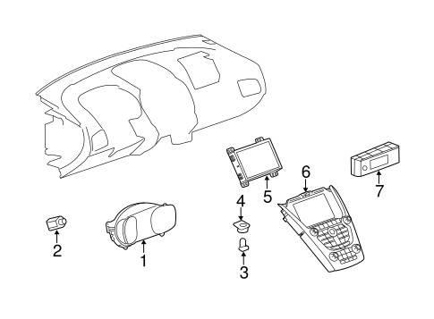 Oem 2013 Chevrolet Equinox Switches Sensors Parts