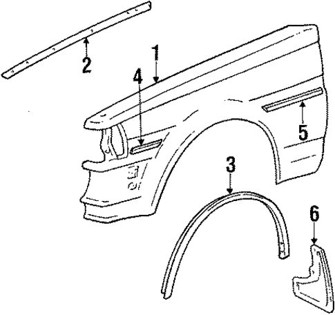 Fender Upper Seal