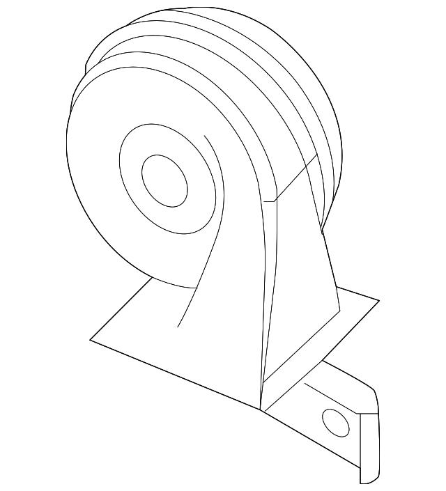 Kia Soul Horn Location