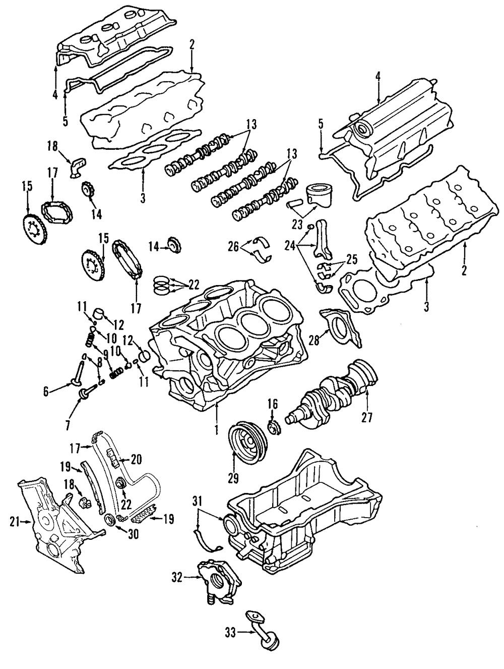 Genuine Ford Head Gasket AT4Z-6051-F