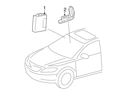Alarm System for 2014 Toyota Camry   Jimmy Vasser Toyota Parts