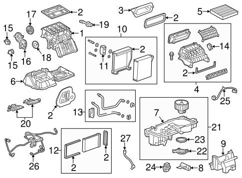 oem 2013 buick encore heater parts. Black Bedroom Furniture Sets. Home Design Ideas