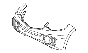 Face, Front Bumper (DOT) - Acura (04711-STK-A93ZZ)