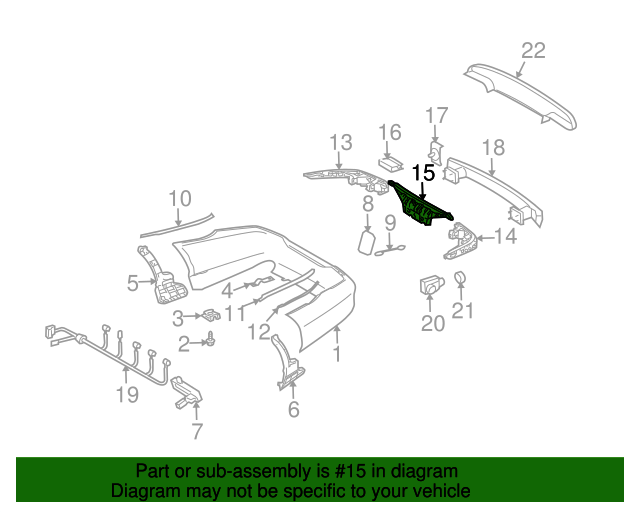 Energy absorber mercedes benz 219 880 05 52 shop mb bmw for Mercedes benz parts online shop