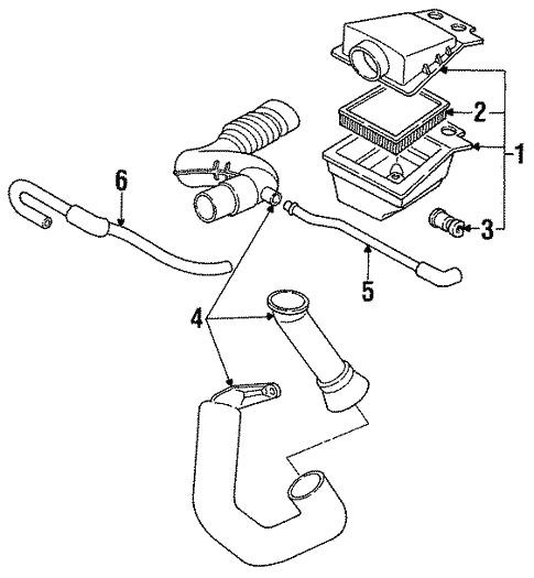 1993 Pontiac Sunbird Engine Diagram