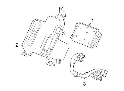 Electrical Components For 2014 Chevrolet Corvette