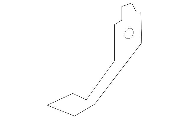 Genuine Infiniti Lower Reinforced 62658-4GA0A