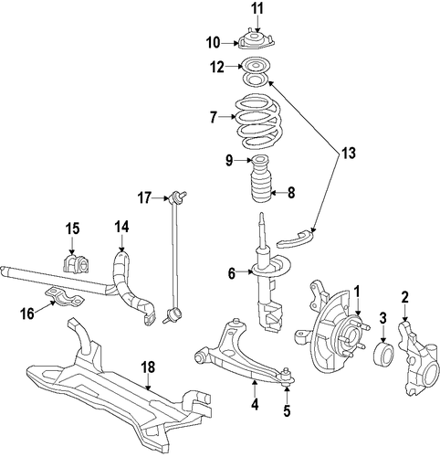front suspension for 2010 jeep patriot