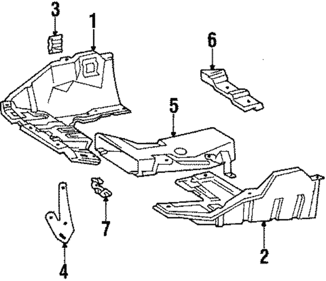 Lower Air Duct - Toyota (53872-20030)