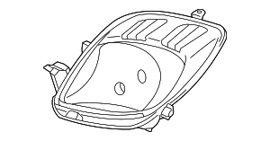 Composite Headlamp - Toyota (81130-52611)