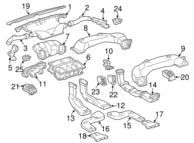 2004 2018 lexus rear extension 87217 0e010 keyeslexusparts Lexus RX330 Parts Diagram Manual