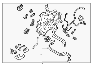AC & Heater Assembly - Subaru (72100XC01A)