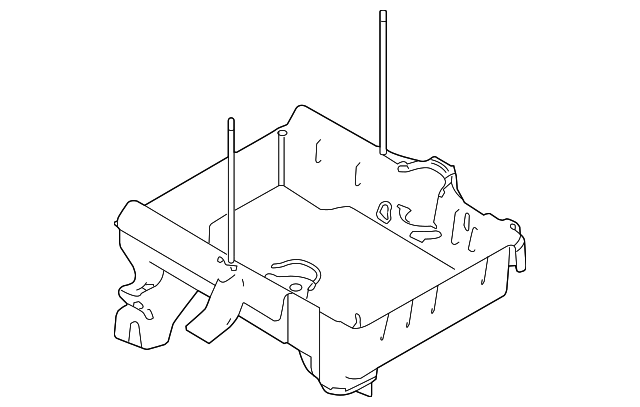 FORD OEM-Battery Tray AG1Z10732D