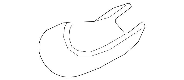 Wiper Arm Cover, Rear