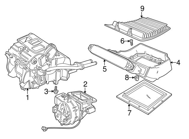1995 2013 Land Rover Wheelhouse Liner Retainer Nut Czk3264l